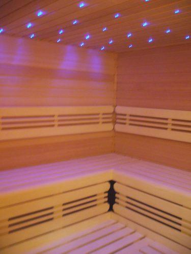 Osvětlení do finské sauny
